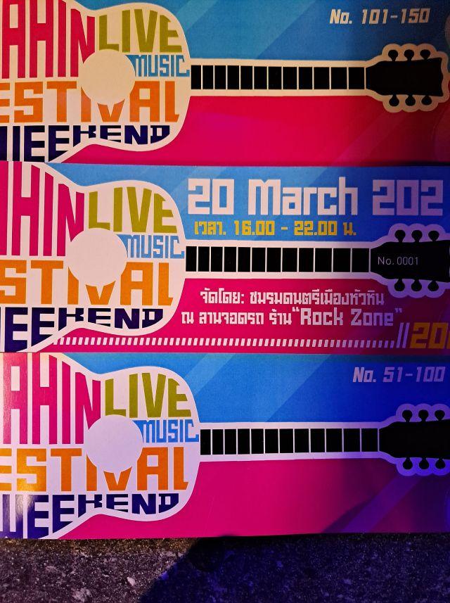 Hua Hin Music Festival March 2021